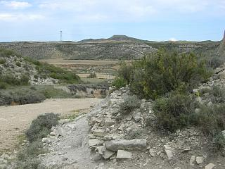 karge Landschaft in Nordspanien
